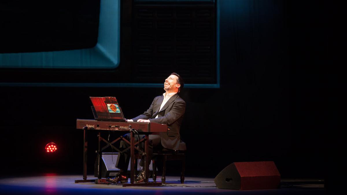 El pianista Alberto de Paz.