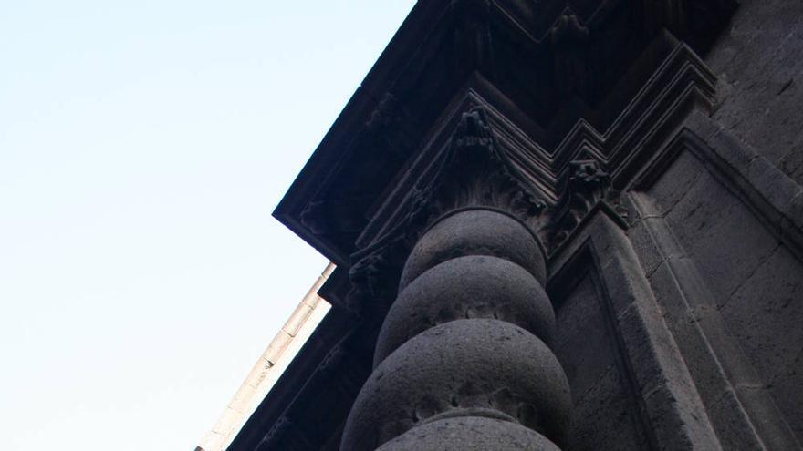 Columna salomónica en San Francisco de Borja. VIAJAR AHORA