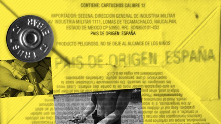 La munición de Trust Eibarrés, producida en Gipuzkoa, fue usada por paramilitares y fuerzas de seguridad de Nicaragua.
