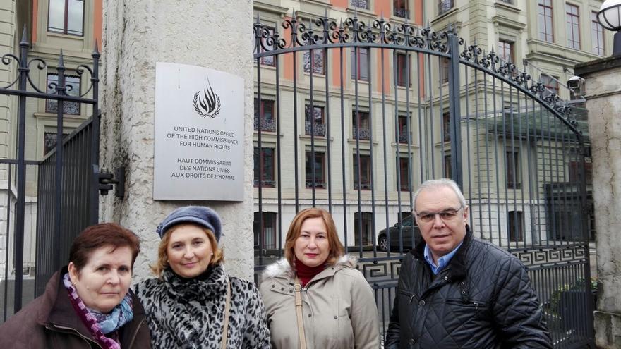Ginebra: Familias de acogida de las mujeres secuestradas en el Sáhara