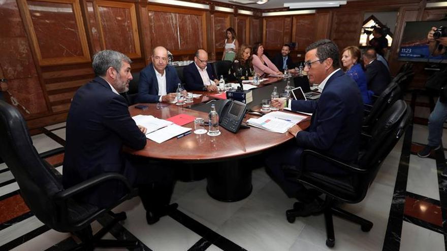 Reunión del Consejo de Gobierno en Las Palmas de Gran Canaria.