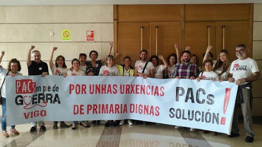 Movilización de personal de los PAC gallegos