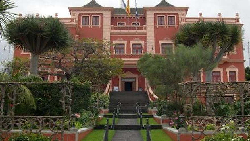 Imagen de archivo del Liceo Taoro, sito en La Orotava