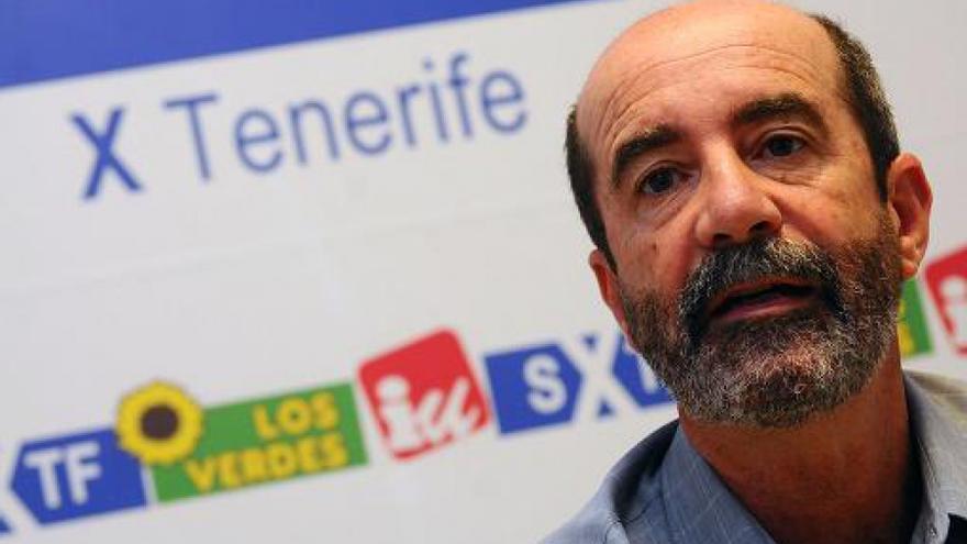 El concejal de XTF en La Laguna, Santiago Pérez.