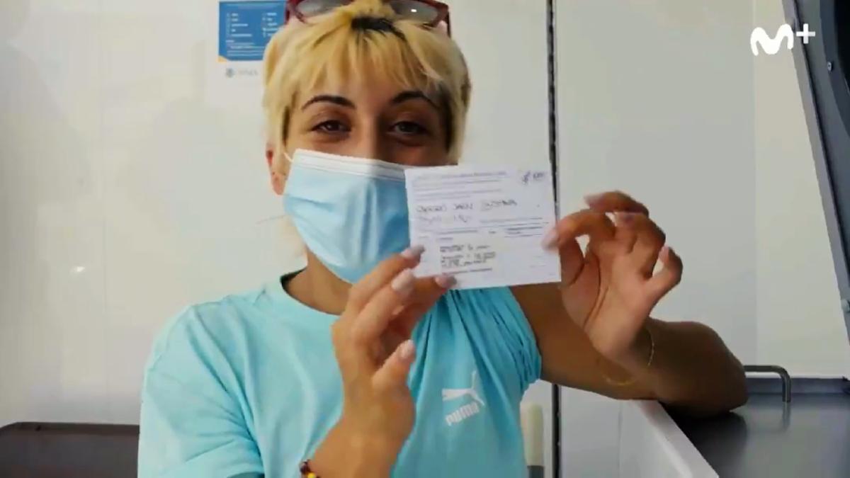 Susi Caramelo, en la promo de su regreso a Movistar