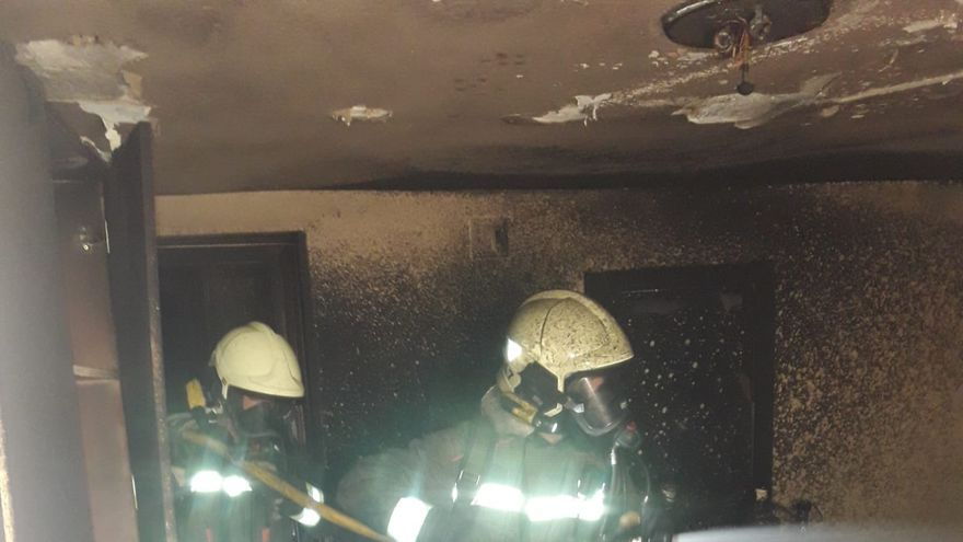 Incendio en una vivienda de Laredo