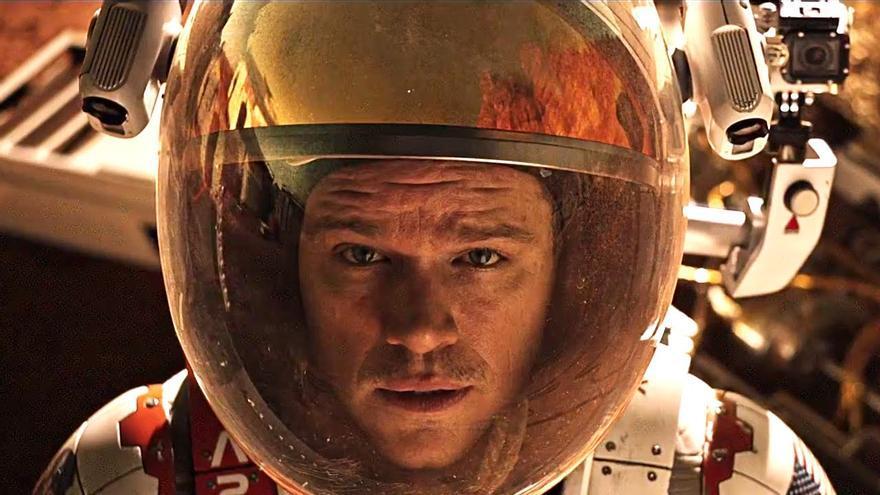 Matt Damon se queda solo en Marte