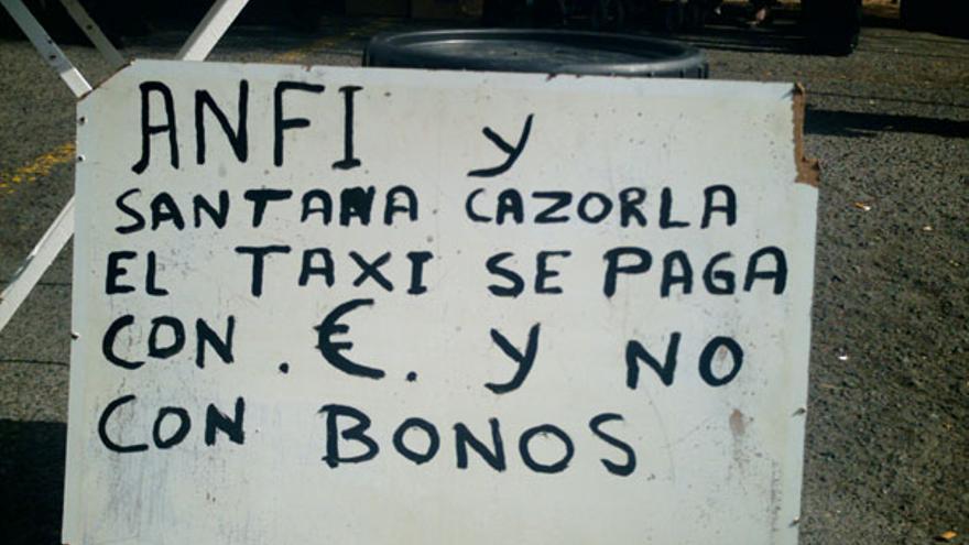 De los taxistas frente a Anfi #4