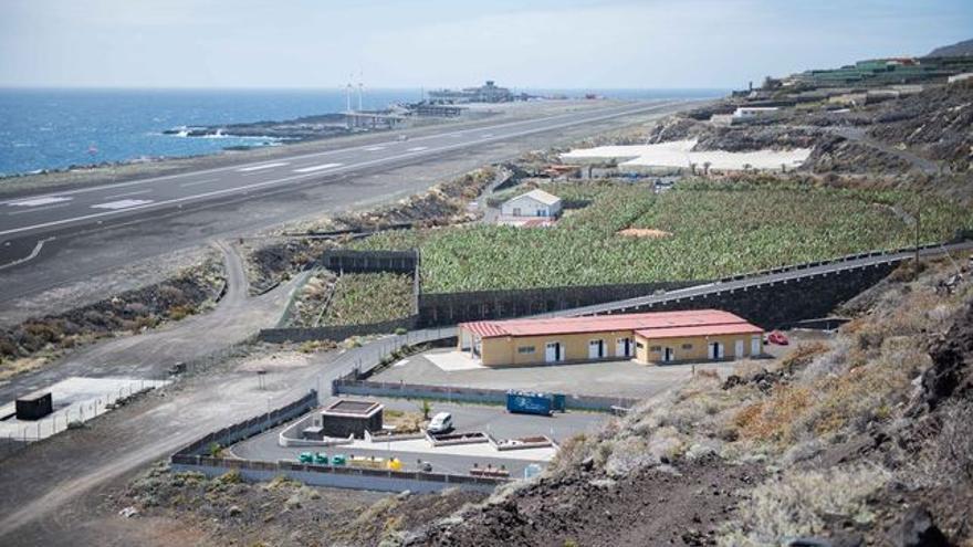 En la imagen, el punto limpio de Breña Baja.
