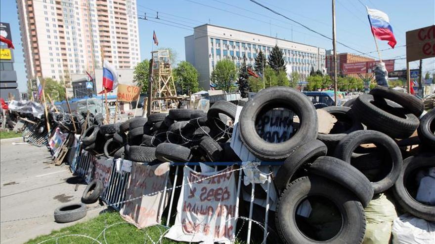 El titular de Defensa ucraniano afirma que Rusia no ha violado las fronteras