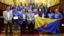El Gobierno canario, el Cabildo y el Ayuntamiento de Telde felicitan a las campeonas del Rocasa