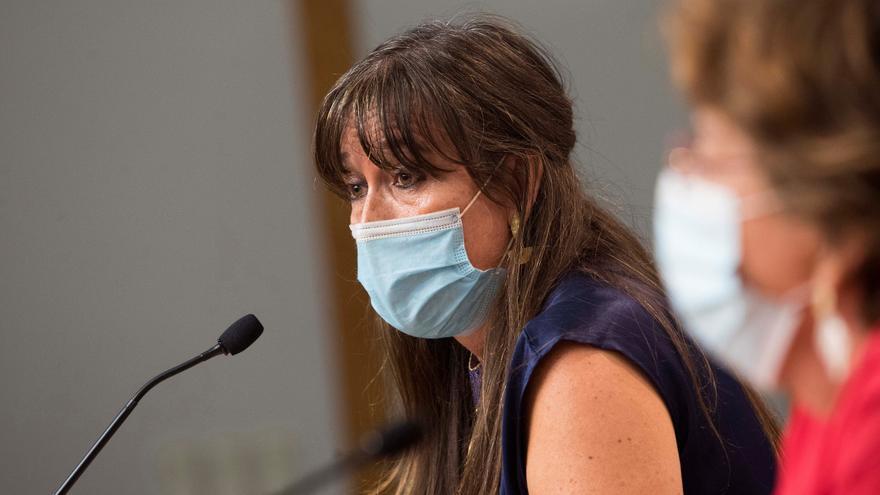 La consejera de Sanidad, Sira Repollés. EFE/Toni Galan/Archivo