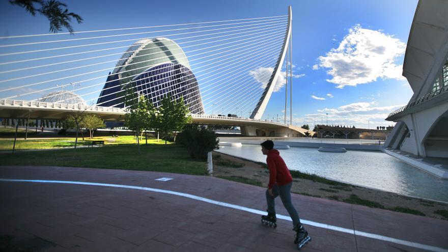 El Ágora, en la Ciudad de las Artes y las Ciencias de Valencia