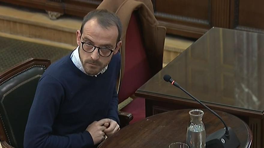Jaume Mestre, en su declaración en el juicio.