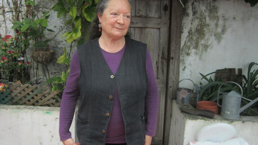 Elsa López realizó su estudio etnográfico en la Norte de La Palma. Foto: LUZ RODRÍGUEZ