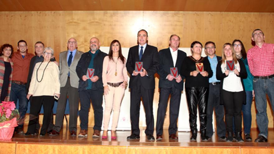 Los galardonados con los premios