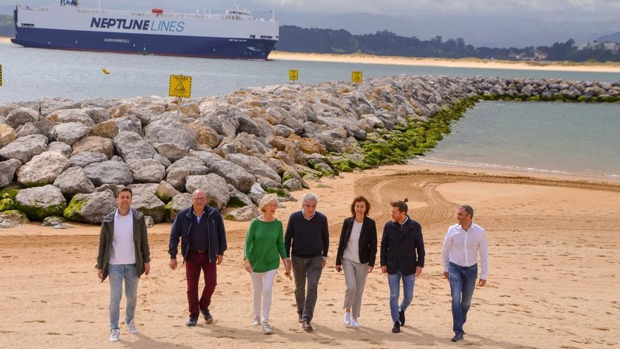PRC declarará, si gobierna en Santander, el litoral norte como espacio protegido y quitará espigón de Magdalena