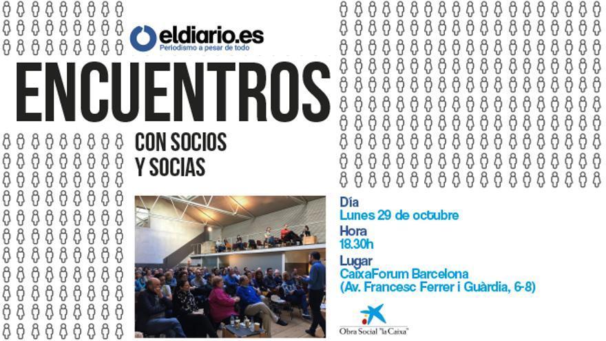 Encuentro con socios/as Barcelona
