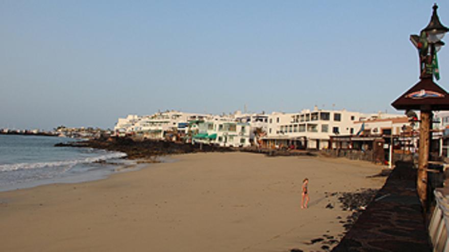Playa Blanca, en Yaiza (AYTO. YAIZA)