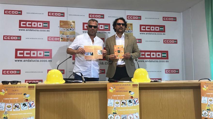 Campaña CCOO de Construcción y Servicios de Andalucía