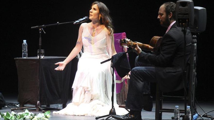Diana Navarro muestra su cara más sinfónica en el Teatro de la Zarzuela