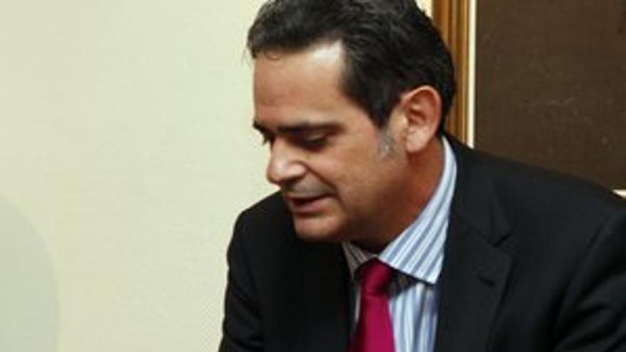 Jorge Rodríguez, consejero de Economía y Hacienda del Gobierno de Canarias. (ACFI PRESS)