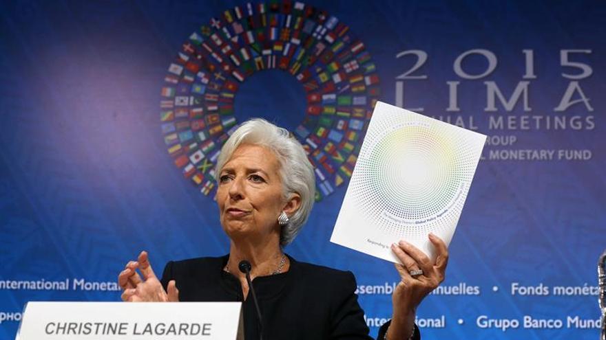 El FMI alerta sobre el débil crecimiento global y urge al G20 a tomar medidas