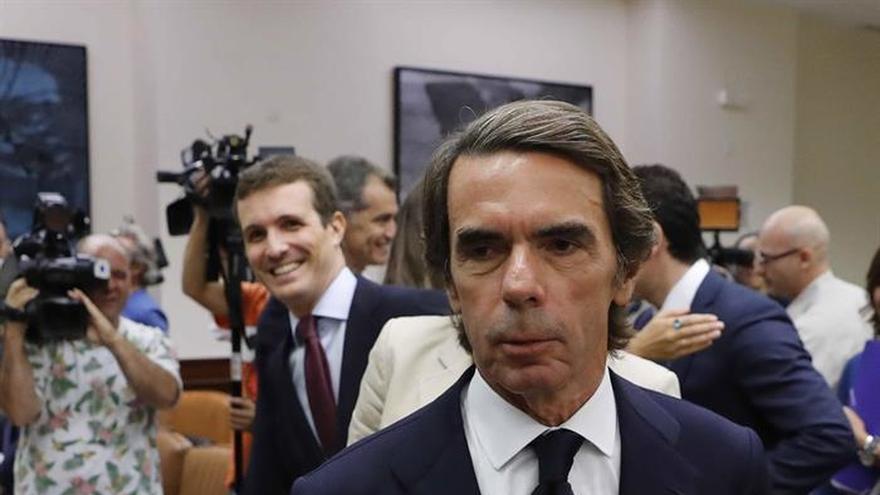 """Aznar a Iglesias: """"Me parece un peligro para las libertades y la democracia"""""""