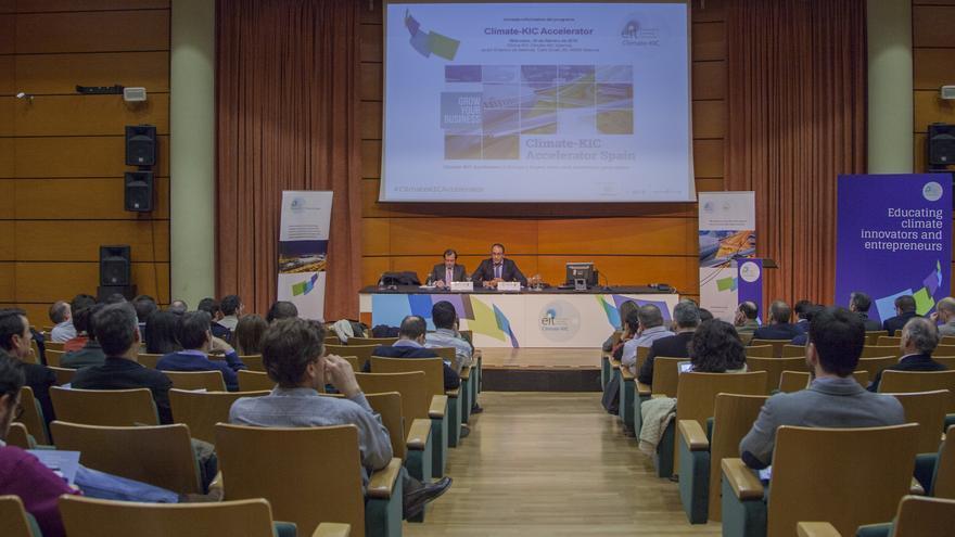 Un jornada informativa de Climate-KIC en Valencia.