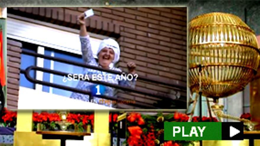 """""""La imagen con la que TVE cierra su spot del sorteo de Navidad es un tétrico símbolo de los desahucios"""""""