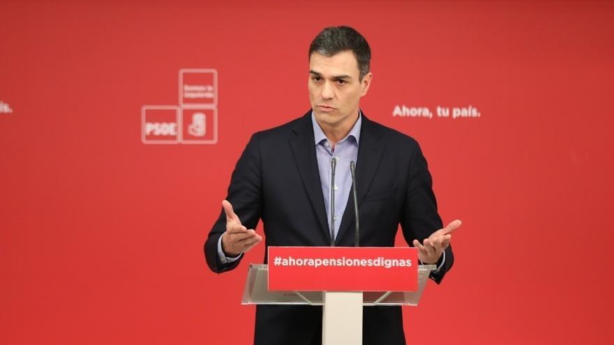 """Pedro Sánchez denuncia que el Gobierno no ha hecho """"nada"""" frente a la despoblación y el reto demográfico"""