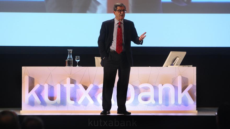 Kutxabank cierra 2013 con un beneficio de 108 millones, un 28% más
