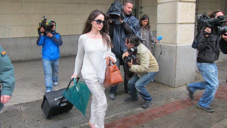 Alaya, a la salida de su juzgado.
