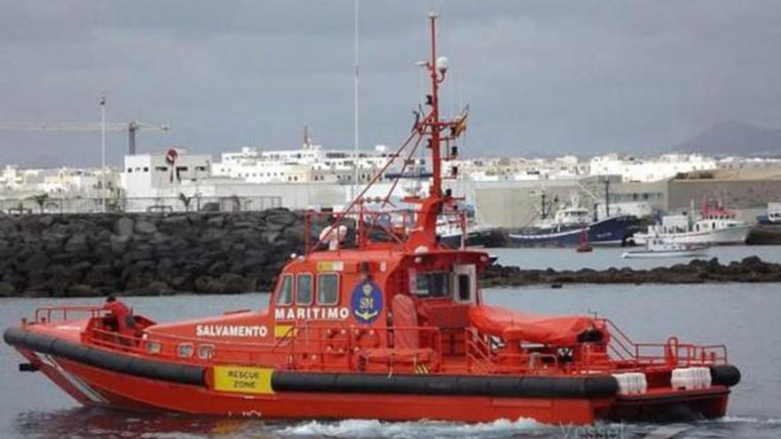 Foto de archivo de un buque de Salvamento Marítimo.