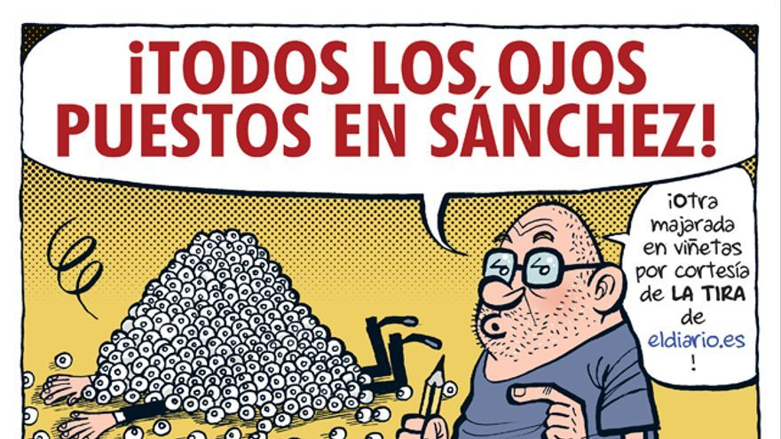 La tira ojos Sánchez