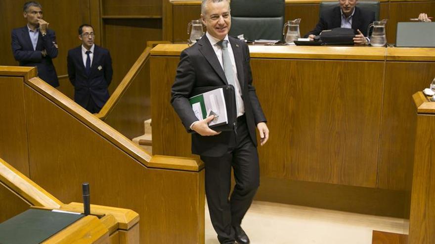 Urkullu ve clave la ronda de consultas del Rey para las elecciones vascas