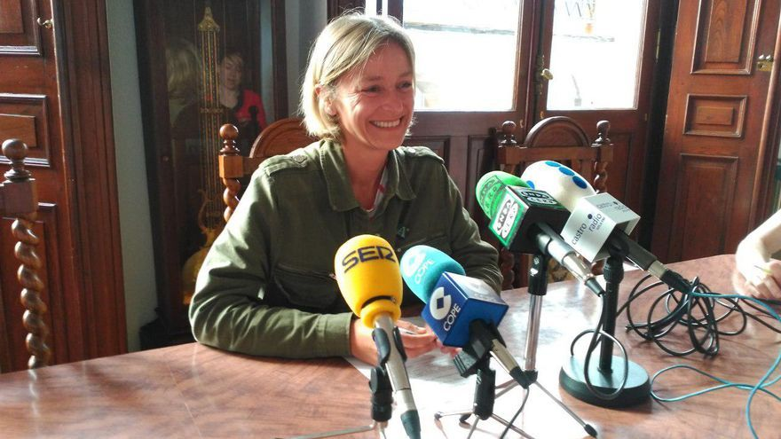La concejala y portavoz del PSOE en Castro Urdiales, Susana Herrán.
