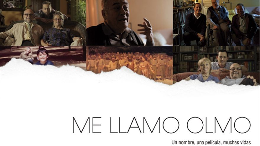 "Cartel del documental ""Me llamo Olmo"""