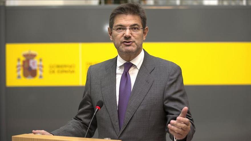 Catalá no descarta reformas legales para fortalecer la lucha contra el terrorismo