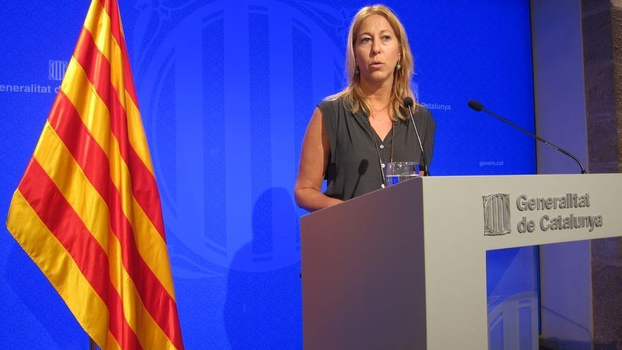 """La portavoz del gobierno catalán afirma que los votos de ERC y CDC """"en ningún caso"""" servirán para investir a Rajoy"""
