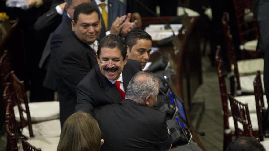 El partido de Zelaya no asistirá a la investidura de Hernández