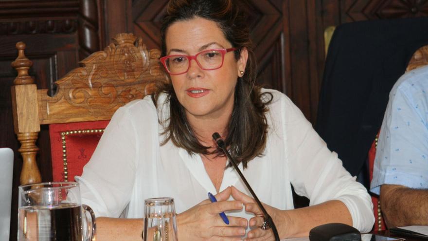 Maeve Sanjuán, concejal de Nueva Canarias en el Ayuntamiento de Santa Cruz de La Palma.