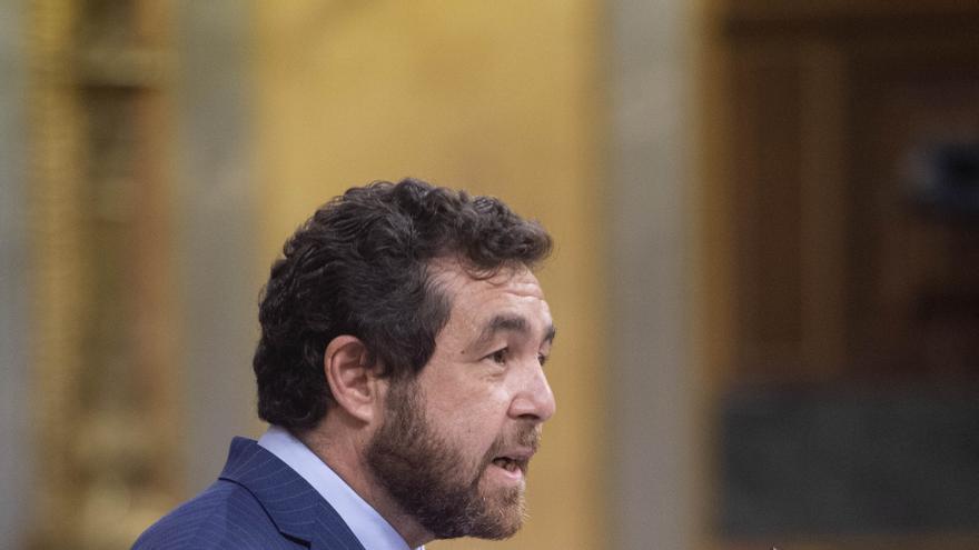 Archivo - El diputado de Cs, Miguel Gutierrez, interviene en una rueda de prensa en el Congreso de los Diputados, Madrid, (España), a 24 de marzo de 2021.