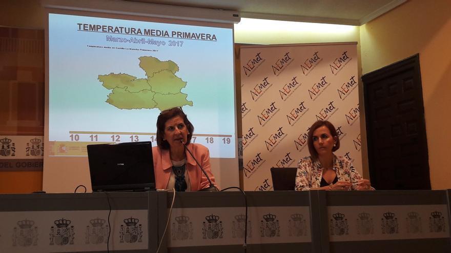 Presentación de datos y previsiones para Castilla-La Mancha / AEMET