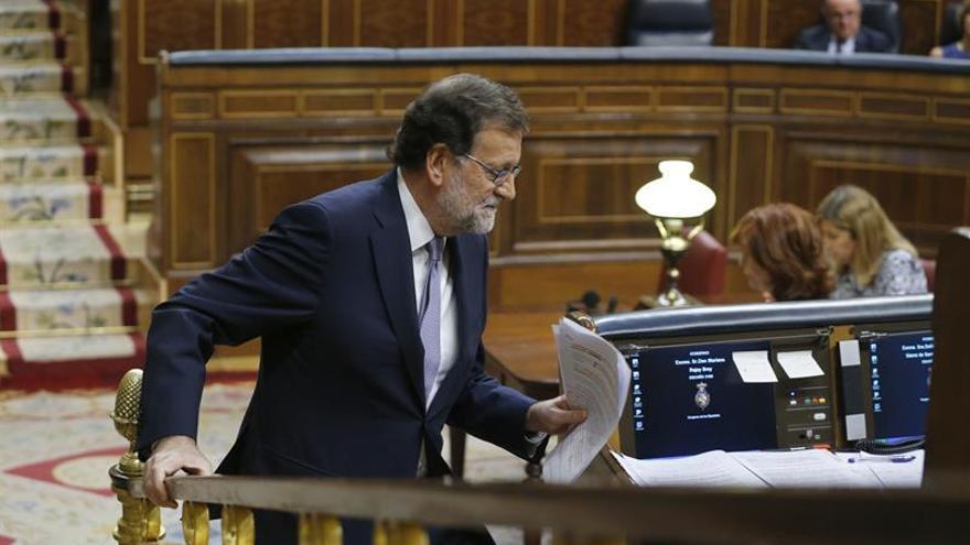 Rajoy reivindica su plus de legitimidad para formar Gobierno por encima del PSOE