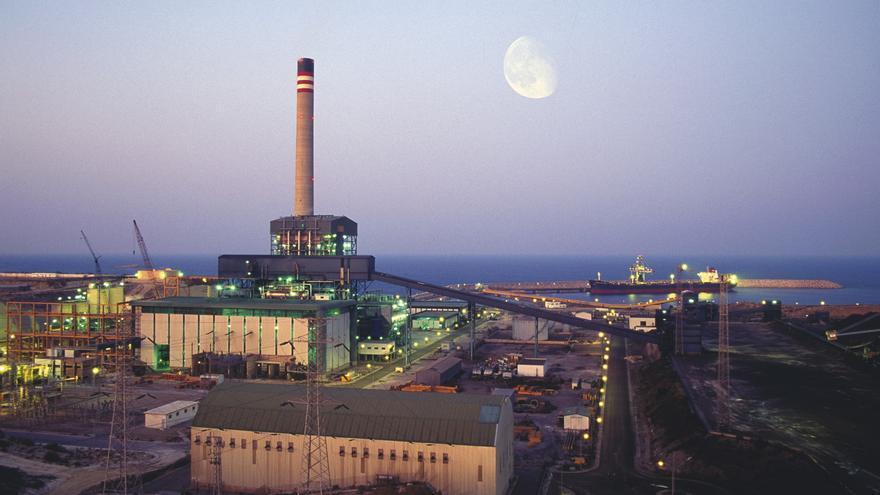 Central eléctrica de Carboneras (Almería). Foto: Endesa