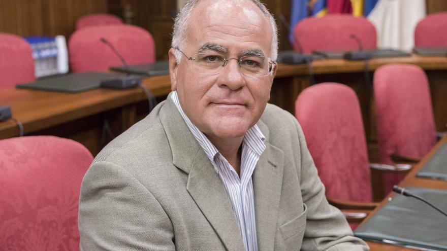 Carlos Cabrera, portavoz  del grupo Popular en el Cabildo de La Palma.