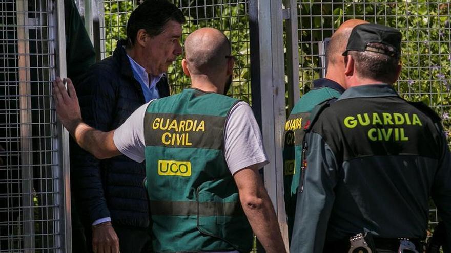 La Audiencia Nacional ratifica la prisión provisional de Ignacio González