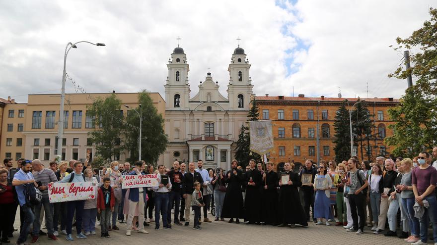 Lukashenko la toma con la Iglesia Católica bielorrusa
