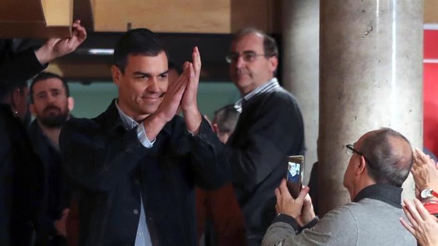 Sánchez: Si nos rebelamos contra las élites políticas y mediáticas ganaremos